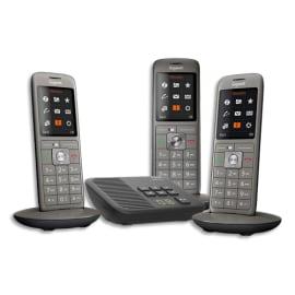 GIGASET Téléphone CL660 avec répondeur TRIO Gris L36852-H2824-N111 photo du produit