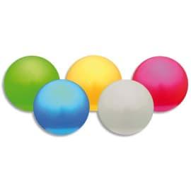 Lot de 5 balles nacrées, légéres en PVC souple regonflable. Idéal pour toutes les activités. photo du produit