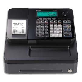 CASIO Caisse enregistreuse SES100 petit tiroir Noir SE-S100SB-BK-FR compatible fiscalité 2018 photo du produit