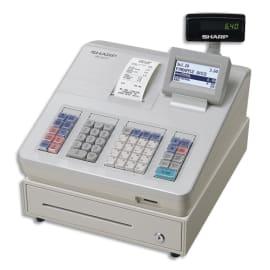 SHARP Caisse enregistreuse XE-A177 petit tiroir Blanche XE-A177WHSF photo du produit
