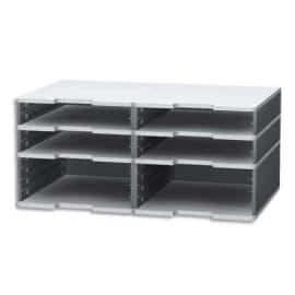 EXACOMPTA Trieur modulodoc 4 cases standard+ 2 cases jumbo photo du produit