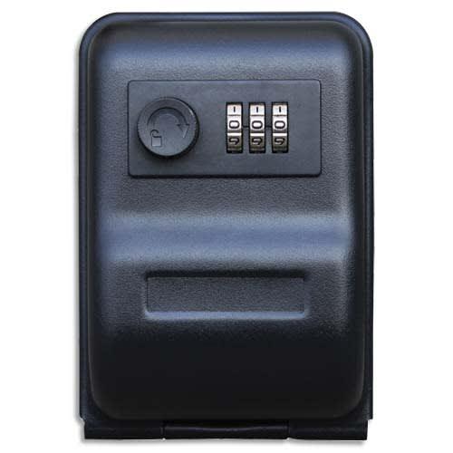 RESKAL Garde clé à combinaison, 3 chiffres. Dimensions : L14,5 x H10 x P5,7 cm. photo du produit Principale L