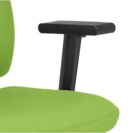 Paire d'accoudoirs réglables Noirs pour sièges SQUARE et TWITEUR photo du produit