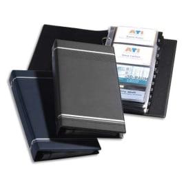 DURABLE Porte-cartes Visifix pour 200 cartes de visite L90 x H57 mm - 12 touches A-Z - Anthracite photo du produit