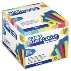 GIOTTO Robercolor Boîte de 100 craies coloris assortis photo du produit