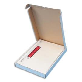 Boîte de 100 Pochettes d'expédition document ci-inclus - Format C5 : 225 x 165 mm transparent photo du produit