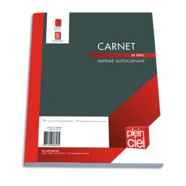 PLEIN CIEL Carnet de commande tripli 18x21 cm photo du produit