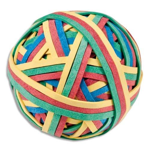 JPC Balle 200 élastiques 4 couleurs assorties photo du produit Principale L
