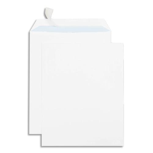 GPV Boîte de 250 pochettes auto-adhésives velin Blanc 90g format 260x330 24 photo du produit Principale L