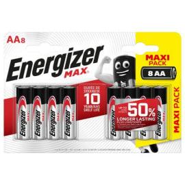 ENERGIZER Blister de 8 piles AA LR06 max 7638900426618 photo du produit