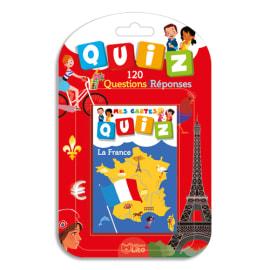 LITO DIFFUSION Jeu de cartes Quizz thème la France photo du produit