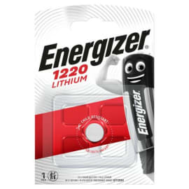 ENERGIZER Blister de 1 pile lithium CR1220 7638900411522 photo du produit