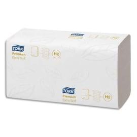 TORK Colis de 21 Paquets de 100 Essuie-mains Xpress interfoliés Extra doux Premium 2 plis M Ft 21,2x34 cm photo du produit