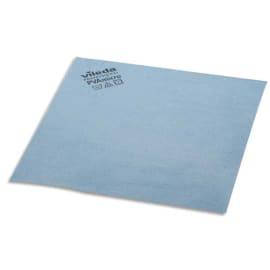 VILEDA Paquet de 5 Lavettes en microfibre recouvert de PVA - Dimensions L38 x H35 x P0,1 cm Bleu photo du produit