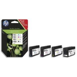 HP Pack de 4 Jet d'encre (950xl+951xl) C2P43AE photo du produit