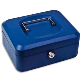 Caisse à monnaie Bleue - Dimensions : L30 x H9 x P24 cm photo du produit