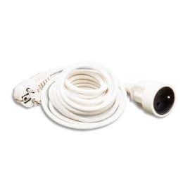 JPC Rallonge électrique lisse 5m Blanc photo du produit