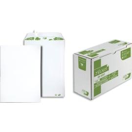 GPV Boîte de 250 pochettes recyclées extra Blanches Erapure, format C4 229x324mm 90g 2830 photo du produit