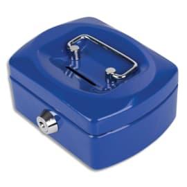 PAVO Caissette à monnaie 12,5cm fente d'insertion+6 compartiments internes Bleu Kobalt glossy 8007417 photo du produit