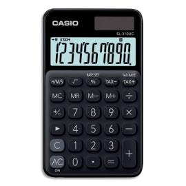 CASIO Calculatrice de poche 10 chiffres Noire SL-310UC-BK-S-EC photo du produit