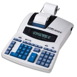IBICO Calculatrice imprimante de bureau professionnelle 12 chiffres 1232X IB404108 photo du produit