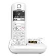 GIGASET Téléphone sans fil AS690A avec répondeur Blanc AS690ABLC photo du produit