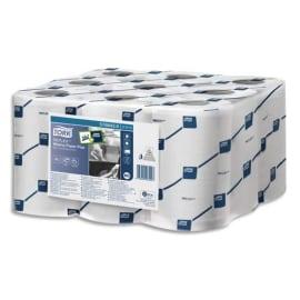 TORK Lot de 9Bobines Min Reflex papier d'essuyage Plus à dévidage central feuille à feuille 67m 2plis blc photo du produit
