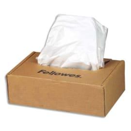 FELLOWES Boîte de 50 sacs de destructeurs de 53 à 75 litres - Séries 125/225 - 36054 photo du produit