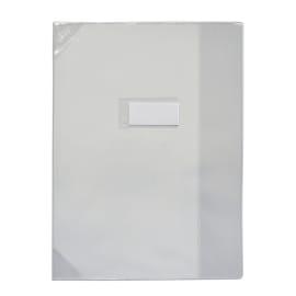 OXFORD Protège-cahier 24x32cm Strong Line cristal 15/100è + coins renforcés (30/100è). Incolore photo du produit