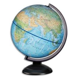 WONDAY Scanglobe - Globe en kit prêt à monter, avec notice de montage, lumineux sphère Bleue 30 cm photo du produit