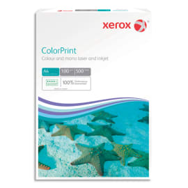 XEROX Ramette 500 feuilles papier extra blanc et lisse XEROX COLORPRINT A4 100G CIE 160 photo du produit