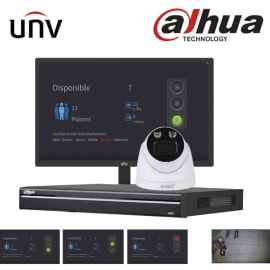 UNIVIEW Kit pour gestion des flux de personnes en temps réel photo du produit