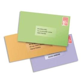 AVERY Boîte de 25 etiquettes Laser invisibles 210x297 L7567-25 photo du produit