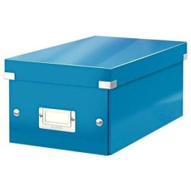 LEITZ Boîte de rangement pour DVD Click&Store coloris WOW Bleu 60420036 photo du produit