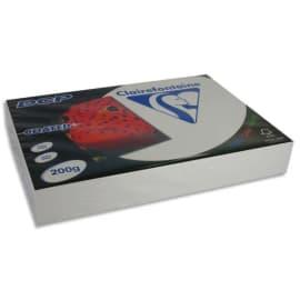 CLAIREFONTAINE Ramette 250 feuilles A3 200g DCP coated brillant 2 faces 6862 photo du produit
