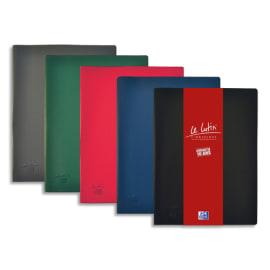 OXFORD Protège documents LUTIN ORIGINAL 60 vues, 30 pochettes. En PVC opaque. Format A4. Coloris assortis photo du produit