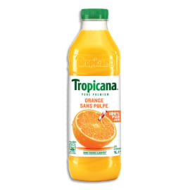 TROPICANA Bouteille plastique d'1 litre de jus d'Orange photo du produit