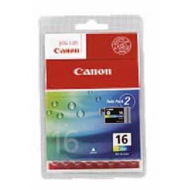 CANON pack de 2 cartouches 3 couleurs BCI16CL photo du produit