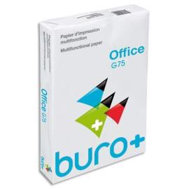BURO PLUS Ramette 500 feuilles papier extra Blanc BURO+ A4 75G CIE 163 photo du produit