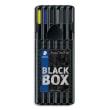 STAEDTLER BlackBox triplus 6 stylos photo du produit