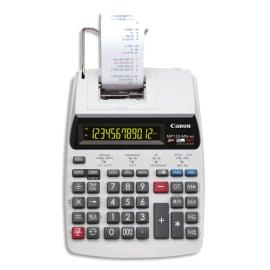 CANON Calculatrice imprimante professionnelle 12 chiffres MP-120-MG-ES II 2289C001 photo du produit