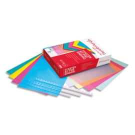PERGAMY Starter kit:40 couv brill Vert/Rose/Jaune+40 couv transp Vert/Rose/Jaune+40 peignes transp 900059 photo du produit