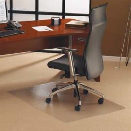 FLOORTEX Tapis protège-sols, sols durs ou moquette en polycarbonate - L200 x H150 cm transparent photo du produit