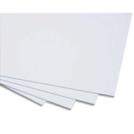 CLAIREFONTAINE Cartons Blancs et bristol carton contrecollé 1 face 50x65 cm épais 1200g photo du produit