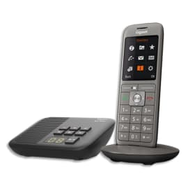 GIGASET Téléphone CL660 avec répondeur SOLO Gris S30852-H2824-N101 photo du produit