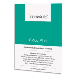 SAFESCAN Logiciel TM Cloud+ jusqu'à 50 utilisateurs supp+gestion à distance/export logiciel paie 139-0591 photo du produit