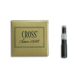 CROSS Cartouche pour stylo à plume encre Bleue en étui de 6 photo du produit