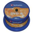 VERBATIM tour de 50 DVD-R 16x 43548 photo du produit