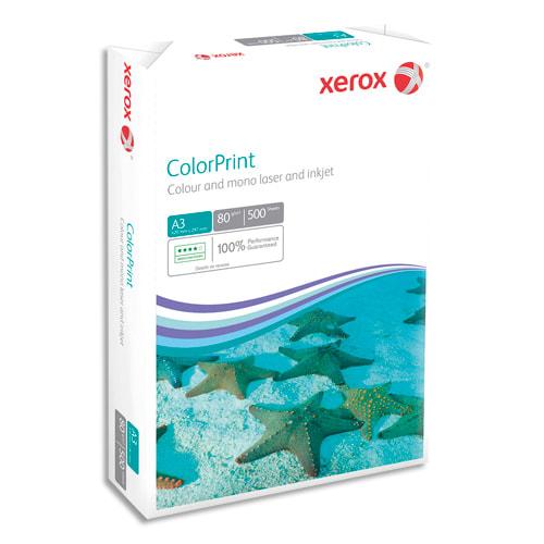 XEROX Ramette 500 feuilles papier extra blanc et lisse XEROX COLORPRINT A3 80G CIE 160 photo du produit Principale L