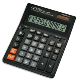 CITIZEN Calculatrice bureau 12 chiffres SDC444S 7232090 photo du produit